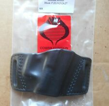 Cobra 2 Slot OWB Beltslide Holster Fit Glock 17,22,19,23,26,27 Right Black