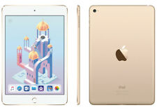 "APPLE IPAD MINI 4 A1538 7.9"" GOLD A8 1.4GHZ CPU 128GB WIFI IOS TABLET MK9Q2LL/A"