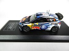 Volkswagen Polo R WRC Rally MC 2016 Mikkelsen 1:43 IXO Direkt MODEL CAR 1605