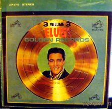 ELVIS PRESLEY - GOLDEN RECORDS, vol 3 (RCA Victor - SILVER 'stereo' 1963)