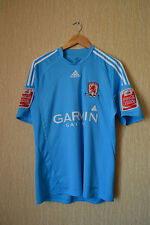 MIDDLESBROUGH ENGLAND 2009-2010 FOOTBALL SHIRT ISSUE JERSEY AWAY  A. JOHNSON