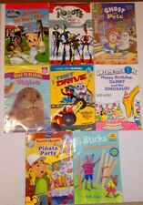 Lot Of 8 Early Step, I Can Read Step Into Reading & Level 1 & 2 Books