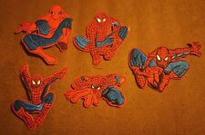Lot of 5 pcs Marvel Comics Hero Spiderman Children Cartoon New Crafting Patches