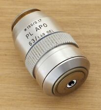 Very Nice Leitz Plan Apo 63/1.40 Oil Immersion Microscope Objective