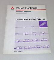 Workshop Manual Mitsubishi Lancer Wagon Supplement Electric Schematics From 1991