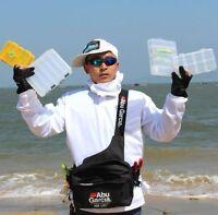 Garcia Fishing Tackle Bag Lure Waist Pack Water-Resistant Shoulder Storage