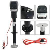 Electric LED Power Lift Tongue Jack 12V 3500lbs Camper RV Trailer Level
