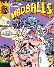 Madballs #4 Comic 1987 - Marvel Comics - Star Comics