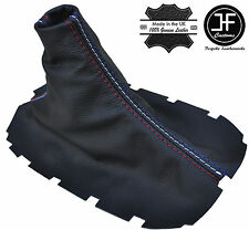 TRI COLOUR STITCH FOR FORD MUSTANG 05-2010 MANUAL LEATHER SHIFT BOOT GEAR GAITER