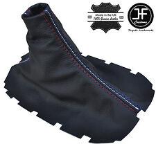 Tri couleur stitch pour ford mustang 05-2010 manuel cuir shift boot gear gaiter
