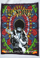 """New Indian Cotton Wall Hanging Poster Home Decor Jimi Hendrix 30X40"""" Inches Art"""