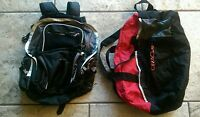 Athletech Backpack/duffel bag set. two for 1. First bidder wins auction!!