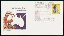 Australia Fdc 1980 Cover White Tailed Kingfisher Bird