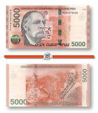 Armenia 5000 Dram 2018 Unc Pn 63a, Banknote24
