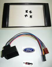 FORD GALAXY DAL 2007 KIT MASCHERINA AUTORADIO+CONNETTORE ALIMENTAZIOE/ALTOP.