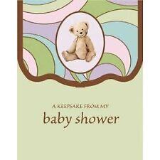 Parenthood Baby Shower Keepsake Registry