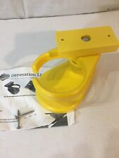 NEW! POLY WOOD PLASTIC Cup Holder for Adirondack Chair YELLOW A01