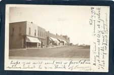 Main Street Laurens IA probably private taken photo sent 1907