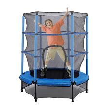 """55"""" 4.5FT Round Trampoline Junior Kids Bounce Equipment Indoor/Outdoor Household"""