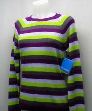 Ladies Columbia Behind The Lines Crew neck Sweater Small New