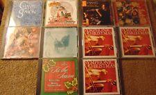 Lot of 10 Assorted CHRISTMAS CDs - Olivia Newton-John  Whitney Houston +