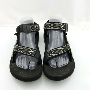 Teva Vintage Made In USA Sandals Gray Black Men's Size 8 Womens 9 - 10