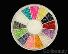 Baby Half Pearls (1500Pcs) in 12 Colours + Free Wheel