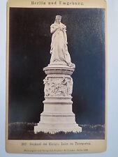 Berlin - Denkmal der Königin Luise im Thiergarten - 1889 / KAB Tiergarten