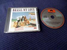 CD Brasil My Love Velosa Wando svasata Marcal Marina Agepe Geronimo POLYDOR 1989