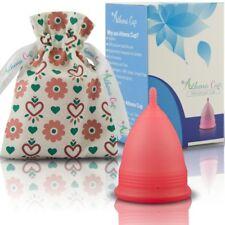 Kit Copa Menstrual Reusable Silicona Grado Médico Talla 2 Bolsa De Tela