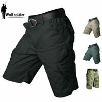 Mens  Shorts Army City Military Tactical Cargo Waterproof Camouflage Shorts