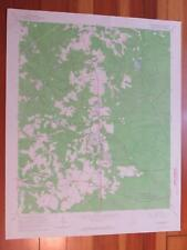 New Ellenton South Carolina 1967 Original Vintage USGS Topo Map