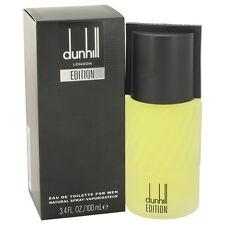 Dunhill Edition Fragrance 3.4oz Eau De Toilette MSRP $75 NIB