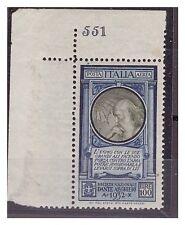 REGNO 1932 - POSTA AEREA DANTE ALIGHIERI  NUOVO ** NUMERO DI TAVOLA