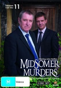 Midsomer Murders : Season 11 : Part 2 (DVD, 2009, 3-Disc Set) R4