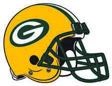 GREEN BAY PACKERS HELMET Vinyl Decal / Sticker ** 5 Sizes **