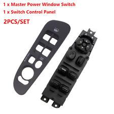 Door Power Window Master Front Left Switch + Bezel for Dodge Ram 1500 2500 3500