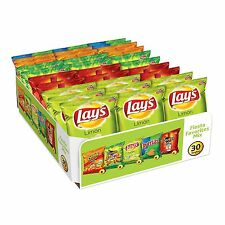 Frito Lay 30 ct Big Grab Fiesta Favorites Lays Limon Cheetos Puffs Flaming Hot