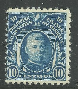 U.S. Possession Philippines stamp scott 294 - 10 cents issue of 1917 - mng #6