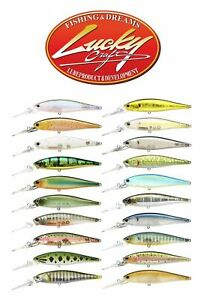 Lucky Craft Pointer 48 DD 4,8cm 2,6g Fishing Lures (Choice Of Colors)
