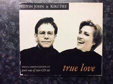 Elton John & Kiki Dee True Love - Part 1 Digi Pak CD @@LOOK@@