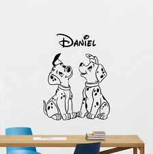 Dalmatian Personalized Name Wall Decal Disney Vinyl Sticker Custom Decor 216crt