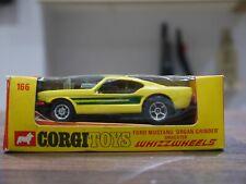 CORGI WHIZZWHEELS Ford Mustang Dragster Organ Grinder Model Car 166 n/mint