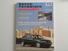 revue technique automobile RTA neuve OPEL Vectra depuis mod 1996 diesel n° 601