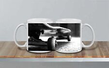 Skateboard Deck BW Awesome Ceramic MUG