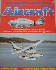Encyclopedia of Aircraft Issue 145 Cessna single-engine family cutaway drawing
