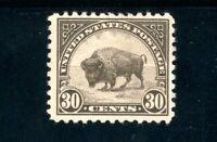 USAstamps Unused VF US Series of 1922 Buffalo Scott 569 MNG