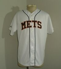 Mens Majestic New York METS MIKE PIAZZA #31 SEWN Stitched Baseball Jersey 46