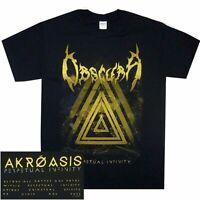 Obscura Perpetual Infinity Shirt S M L XL Official T-Shirt Death Metal Tshirt