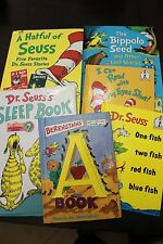 Dr. Seuss Lot 6 Large SMALL Hardcover Books Bippolo Seed SLEEP HATFUL STORIES